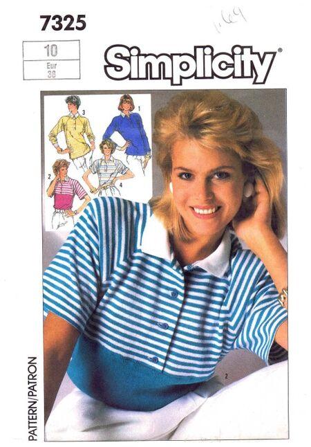 Simplicity 1986 7325