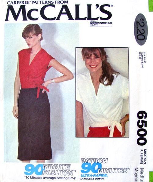 Mccalls 6500