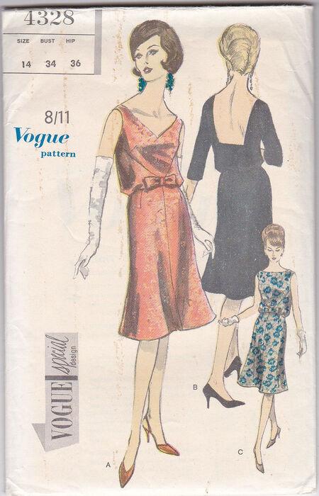 Pattern - Vogue 4328 03