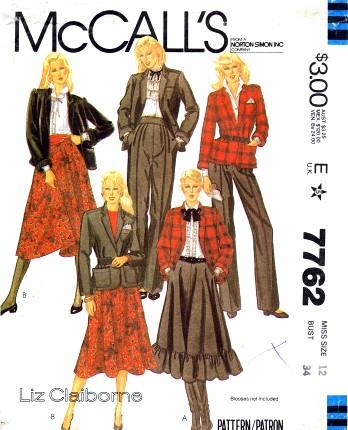 McCalls 1981 7762