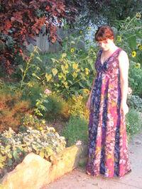 McCall's 3562 maxi dress