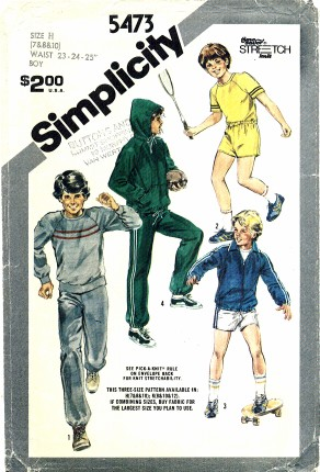 Simplicity 5473