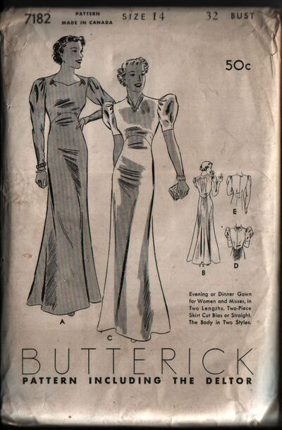 Butterick 7182 front