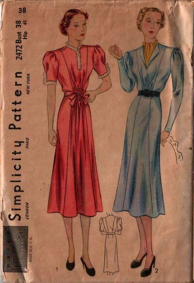 Simplicity 2472 front