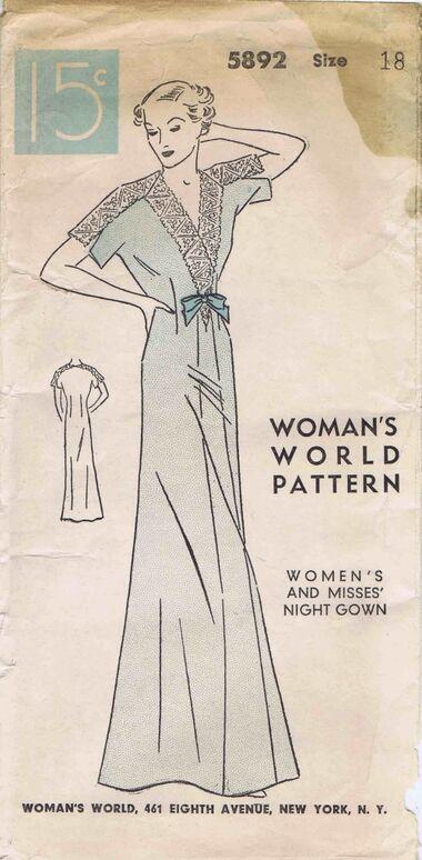 Womans World 1935 5892