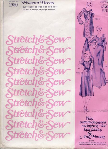 Stretch & Sew 1580 image