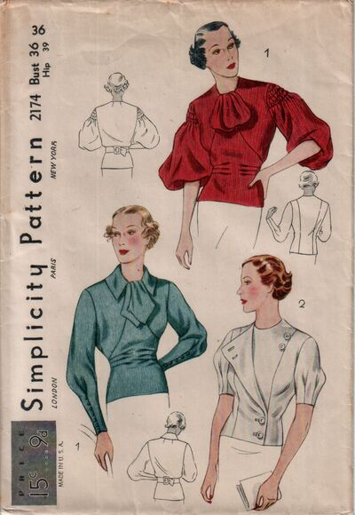 Simplicity 2174 front