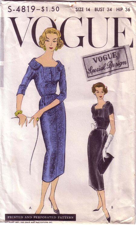 Vogue S4819