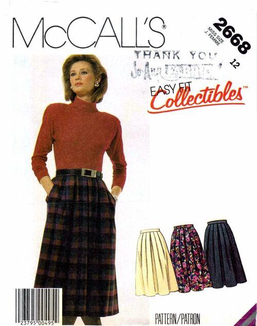 McCalls 1986 2668