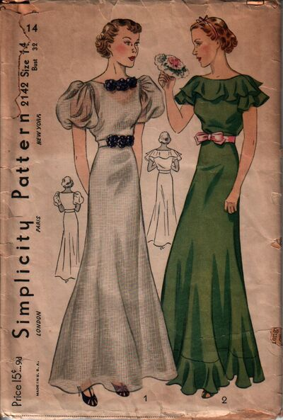 Simplicity 2142 front