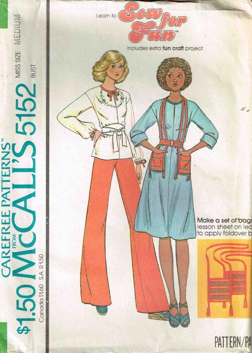 C1976 5152 McCalls Dress Medium 14-16