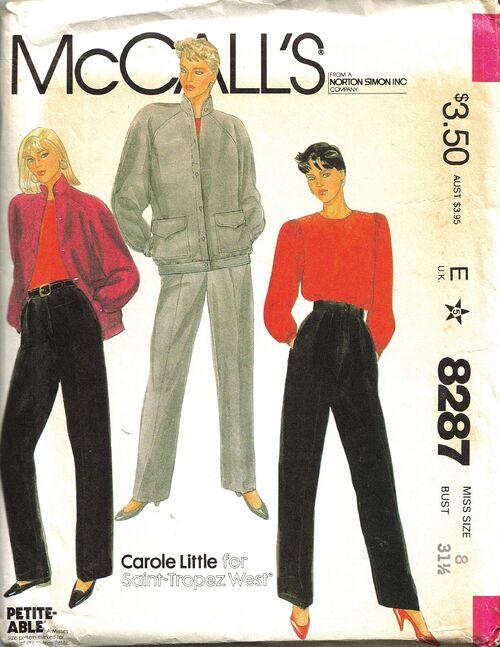 McCalls 8287