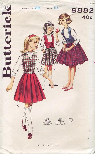 Butterick 9882