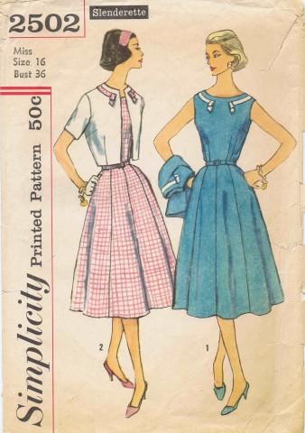 Simplicity 1958 2502