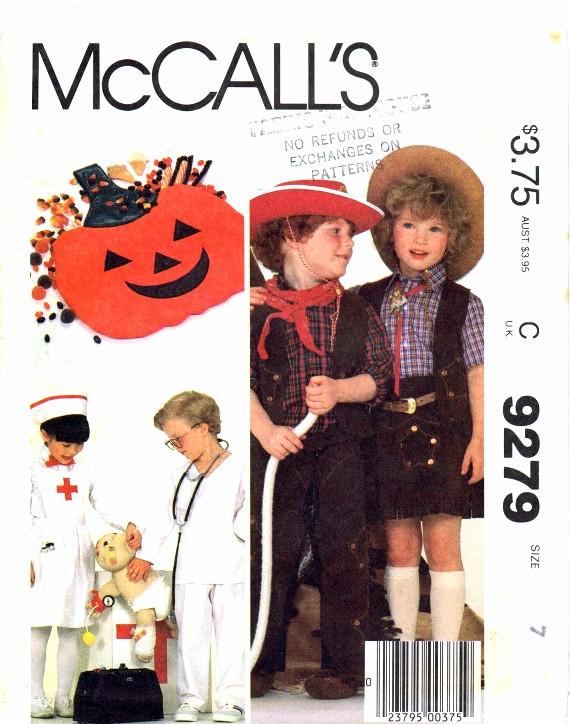McCalls 1984 9279