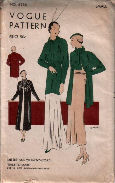 Vogue 6236 front