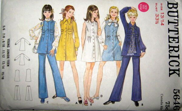 Butterick 5646 image