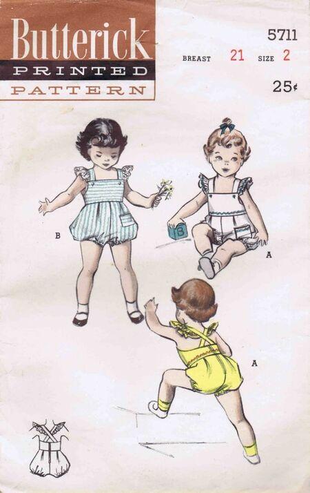 Butterick 1951 5711