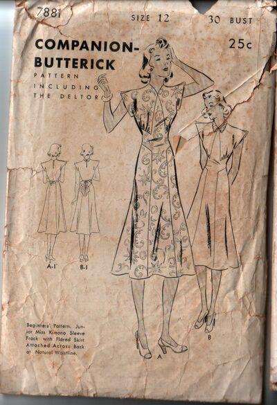 Butterick 7881 front