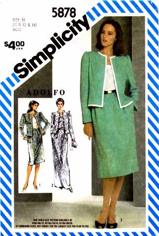 Simplicity 1983 5878
