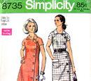 Simplicity 8735 A