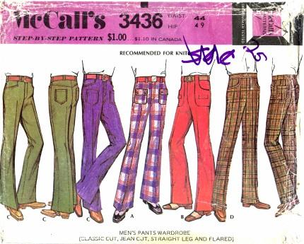 McCalls 1972 3436