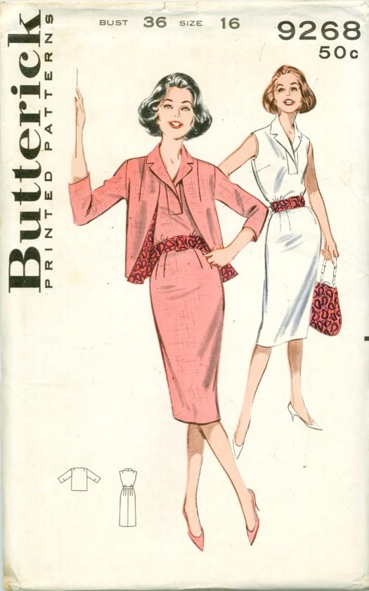 Butterick 9268F