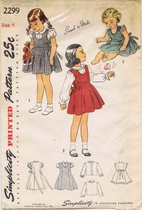 Simplicity 1948 2299