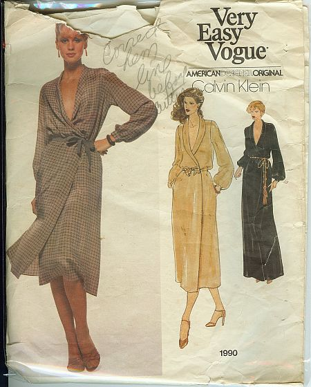 Vogue 1990 A Vintage Sewing Patterns Fandom Powered By