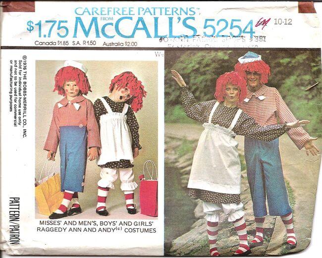 McCalls 5254a