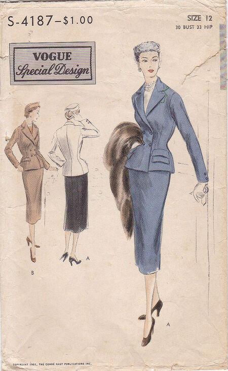 Pattern - Vogue 4187 02