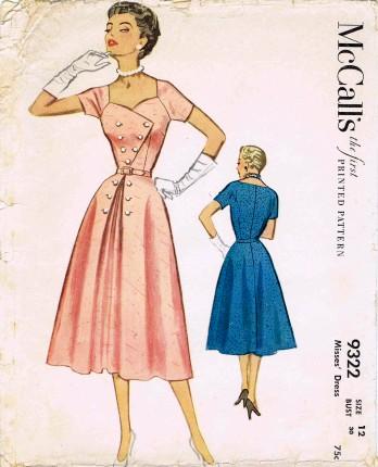 McCalls 1953 9322