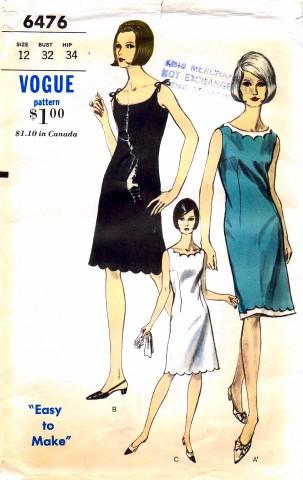 Vogue 6476
