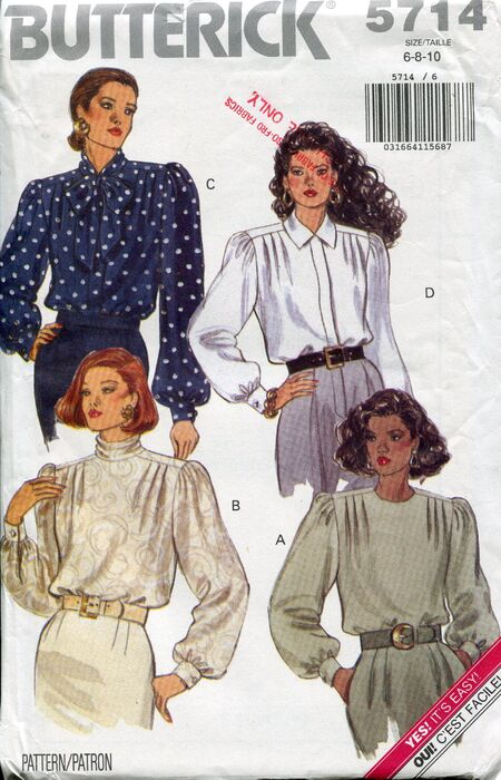 Butterick5714blouses