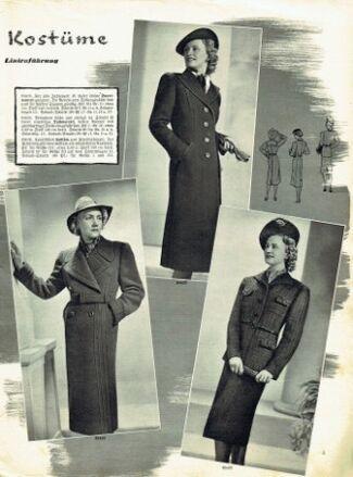 Praktische Damen und Kinder Mode 1938 0005