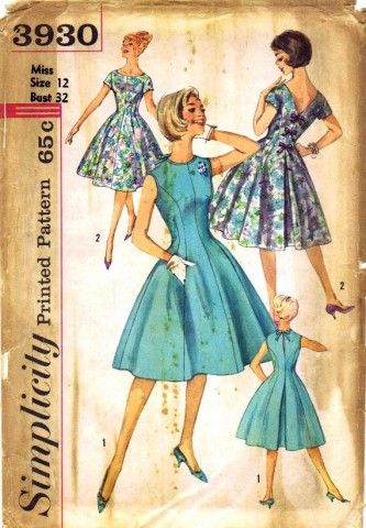 Simplicity 1961 3930