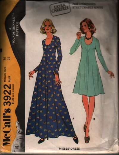 Mccall's 3922 front
