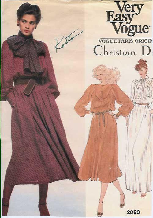 W-20231980s Dior-Dress-Easy