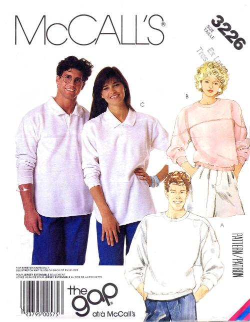McCalls 1987 3226