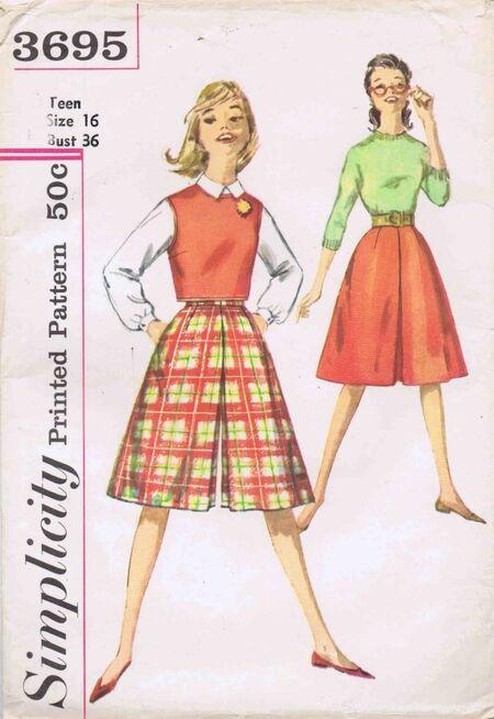 Simplicity 1961 3695