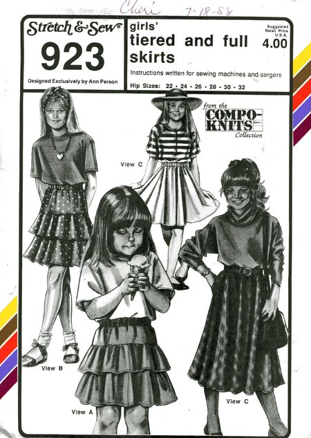 Stretch&sew923girlsskirts