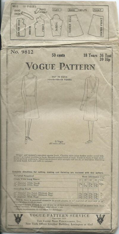 Vogue 9812