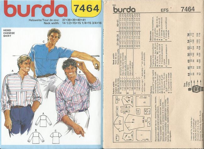 Burda 7464