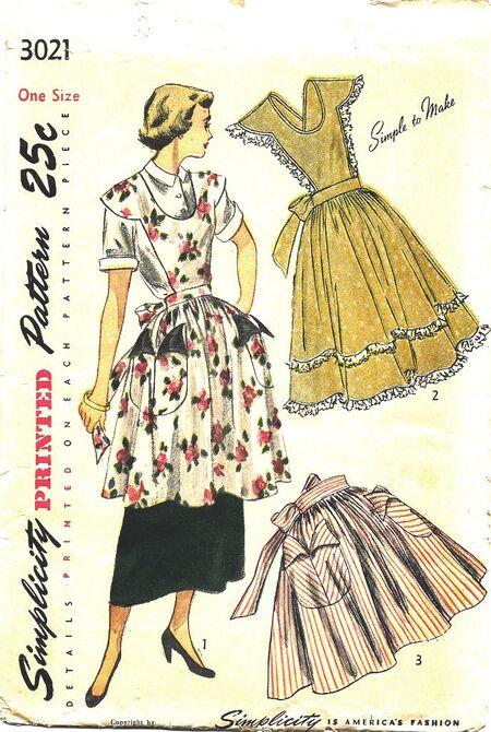 SIMP 3021 apron