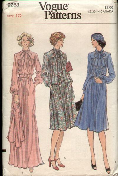 Vogue 9263 70s a