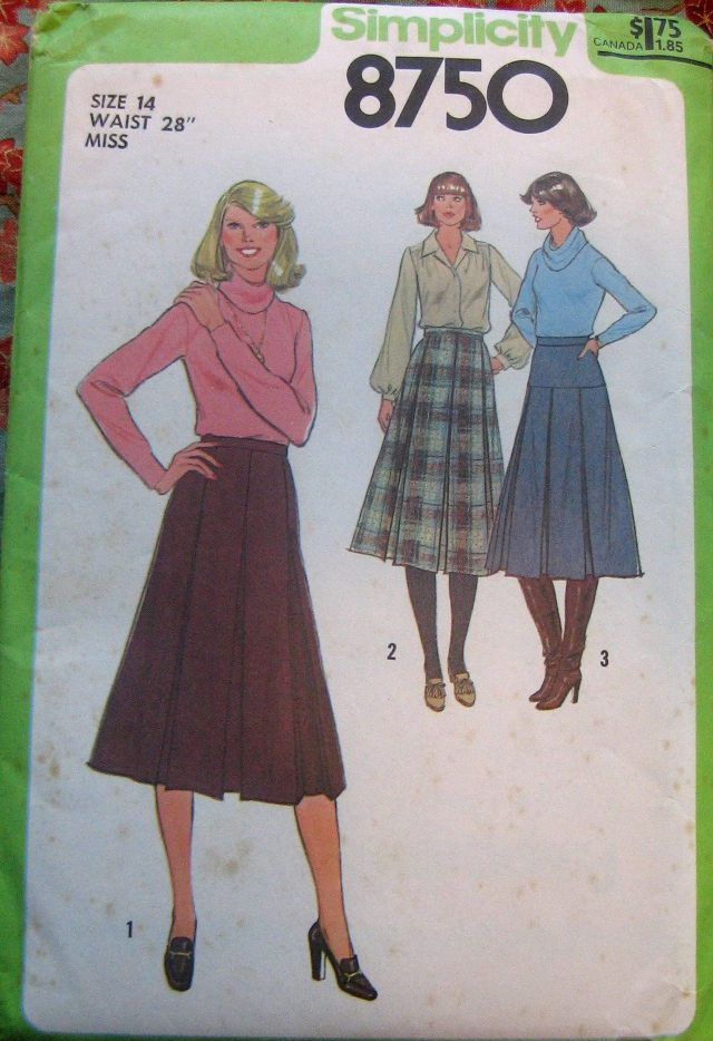 Simplicity 8750 front