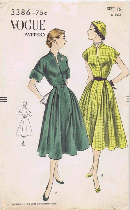 Vogue 1950 3386