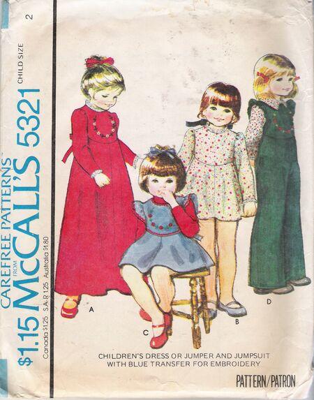 McCall's 5321 image