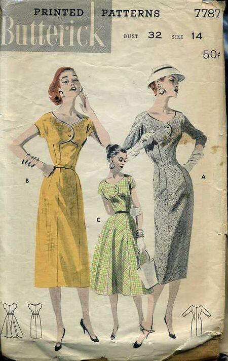 Butterick 7787 image
