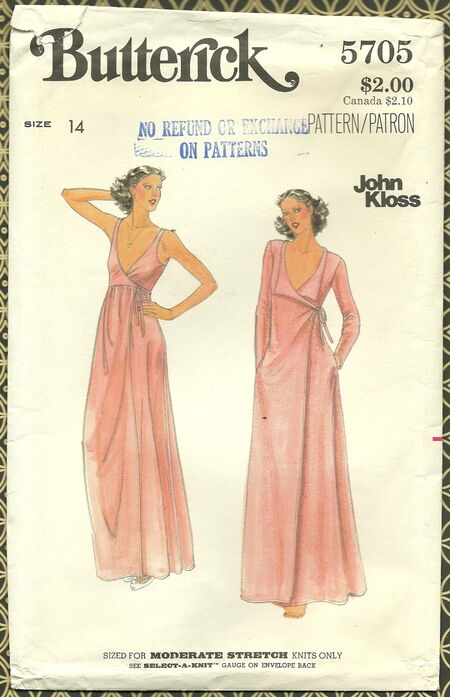 Butterick 5705 Front